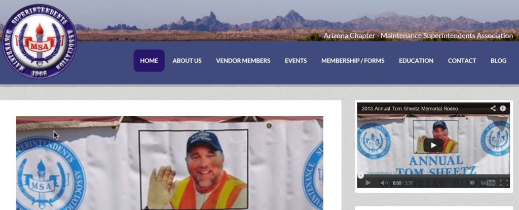 New Web Site for – AZ MSA