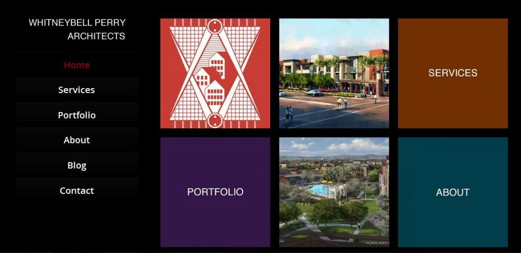 Whitneybell Perry Architects New WordPress Website