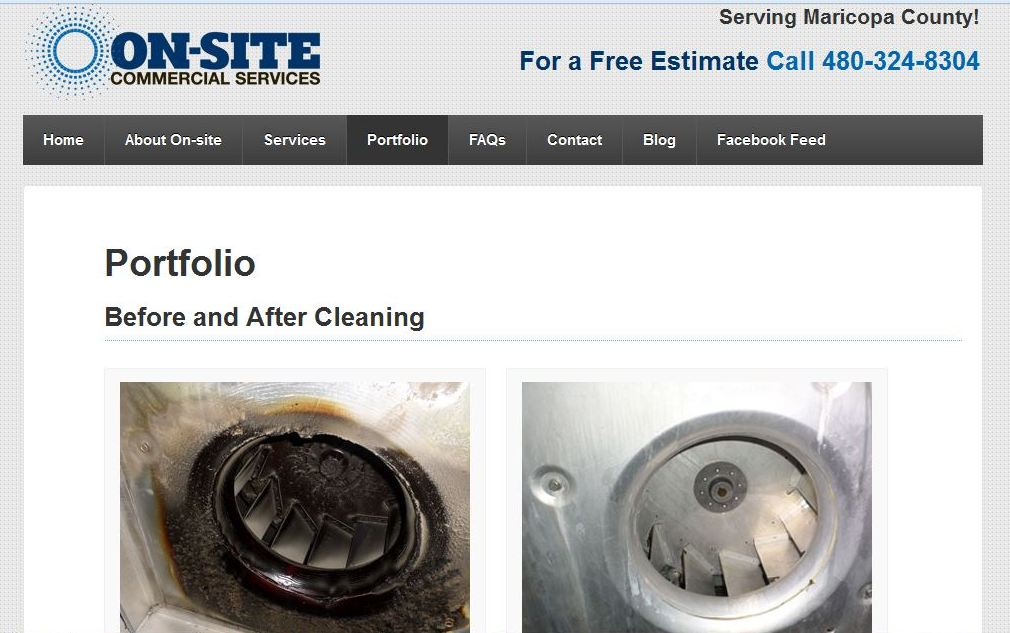 On-Site Commercial Services Updated Website