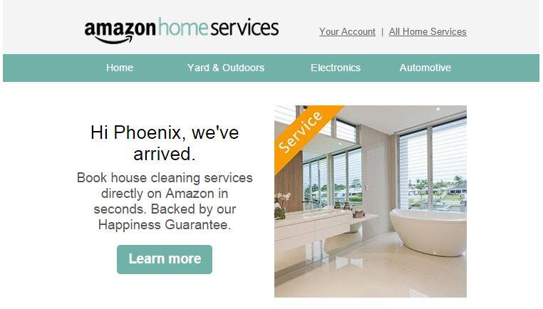 Amazon Takes Over the World