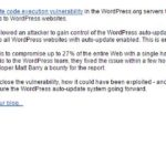 WordFence Discovered HUGE Security Hole In WordPress