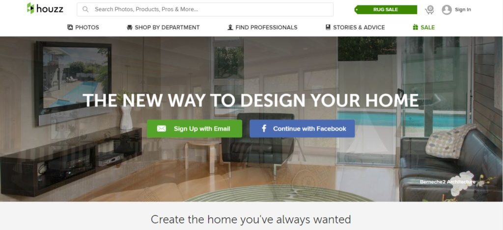 New Features Added to Houzz